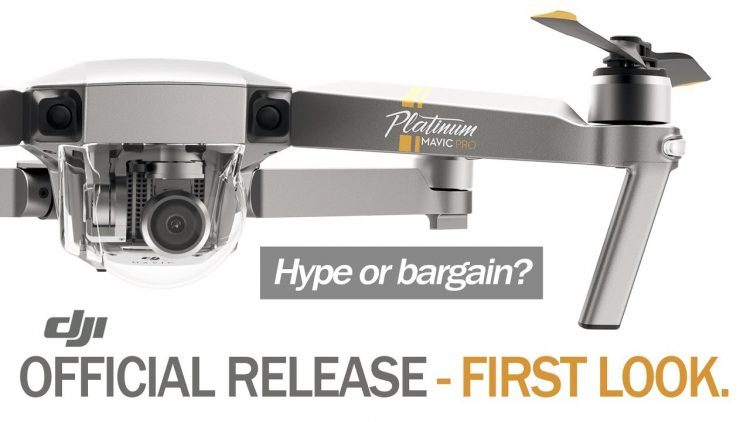 DJI Mavic Pro Platinum – OFFICIAL RELEASE – FIRST LOOK & COMPARE