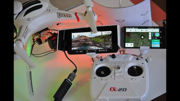 CHEERSON CX20 QuadCopter – Mods For 6 Mile Flights – [Telemetry, OSD, FPV, Battery, Gimbal]