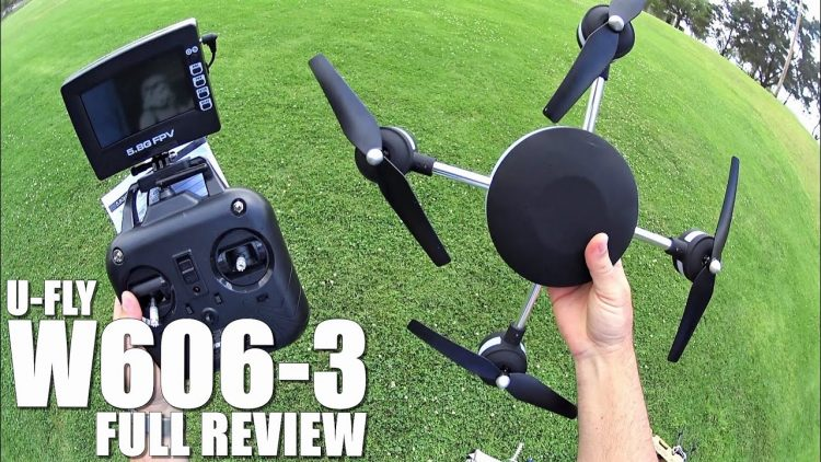 HUAJUN UFLY W606-3 5.8G FPV Quadcopter(Lily) – Full Review – [UnBox, Inspection, Setup, Flight Test]