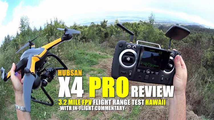 HUBSAN X4 PRO H109s FPV GPS QuadCopter Review – Part 3 – [Range Test With 3D Gimbal & GitUp Git2]