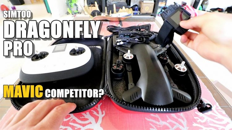 SIMTOO DRAGONFLY PRO Review (Better Than DJI Mavic?) – Part 1 – [Unboxing / Inspection / Setup]