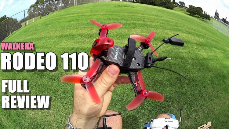 WALKERA RODEO 110 Review – [Unboxing / Inspection / Flight – CRASH Test / Pros & Cons]