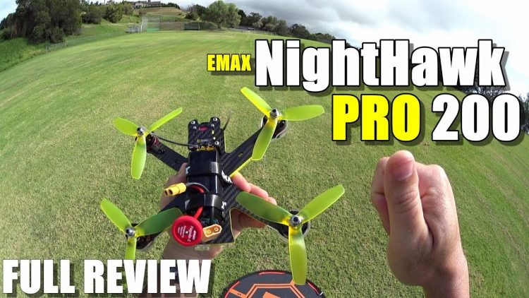 EMAX NightHawk Pro 200 – Full Review – [Unbox / Inspection / Flight-CRASH! Test / Pros & Cons]