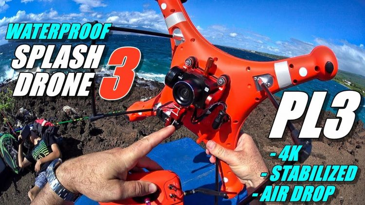 SPLASHDRONE 3 PL3 Air Drop Review – Waterproof Payload Release with Stabilization and 4K Camera ??