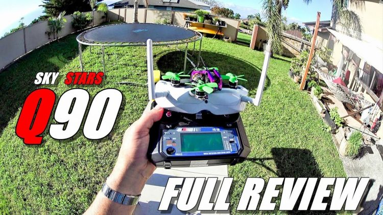 SKYSTARS Q90 Micro FPV Racer – Full Review – Unboxing, Inspection, Flight/CRASH Test, Pros & Cons