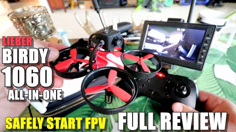 Lieber Birdy LB1060 Full Review – All in One Beginner FPV Drone – Unboxing, Flight Test, Pros & Cons