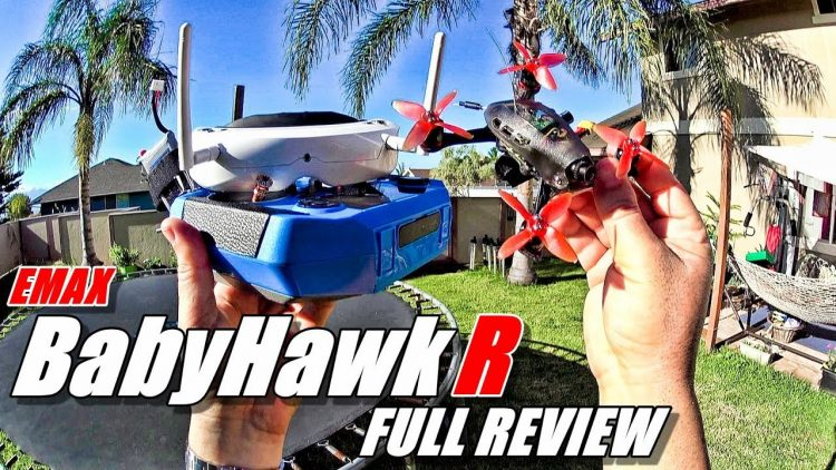 Emax BABYHAWK R Review – Micro FPV Race Drone – [Unboxing, Flight/Crash Test, Pros & Cons]