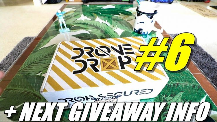 Drone Drop #6 Unboxing ? Review + Giveaway Info – [Monthly FPV Race Drone Box Subscription Service]