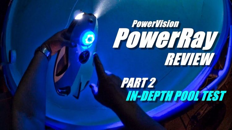 Underwater Drone PowerVision PowerRay 4K ROV Review – Part 2 – [Detailed Pool Test]