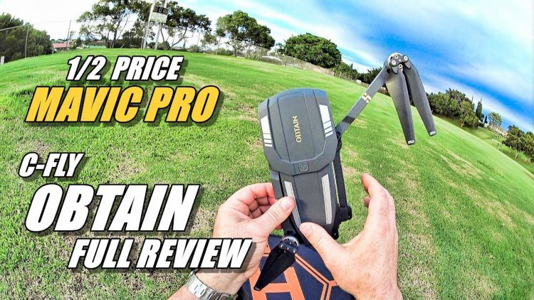 C-FLY OBTAIN Review – Half Priced DJI Mavic Pro (Full Review with Fly Away & Crash!) ???