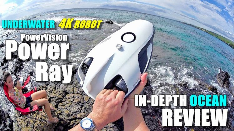 Underwater Drone PowerVision PowerRay 4K ROV Review – [In-Depth ROUGH OCEAN TEST, Pros & Cons]