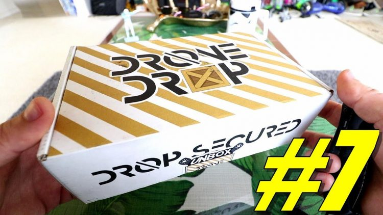 Drone Drop #7 Unboxing ? Review + Discount – [Monthly FPV Race Drone Box Subscription Service]