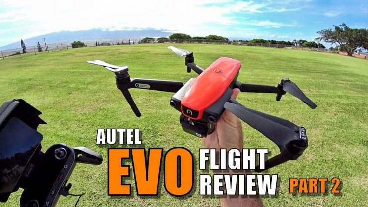 AUTEL EVO Review – Flight Test Part 2 In-Depth [Waypoints, Cam Zoom, RTH Accuracy]