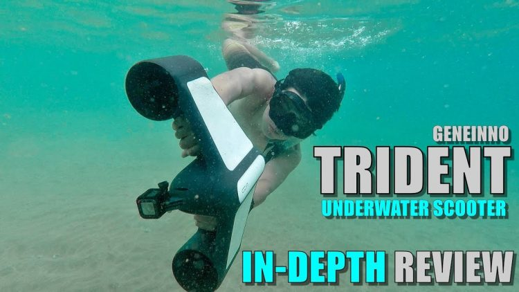 Geneinno TRIDENT Underwater Scooter – Full Review – [Unboxing, Ocean Test, Pros & Cons]