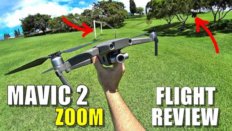DJI MAVIC 2 ZOOM Flight Review – Crazy Windy Tracking & Avoidance, Zooming, Pros & Cons