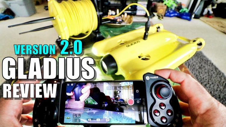 Gladius V2 Underwater ROV Review – Part 1 – [Unboxing, Inspection, Setup, Updating, Pros & Cons]