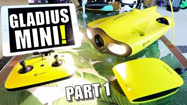 Gladius MINI 4K Underwater FPV ROV Review – Part 1 – [Unboxing, Inspection & Setup]