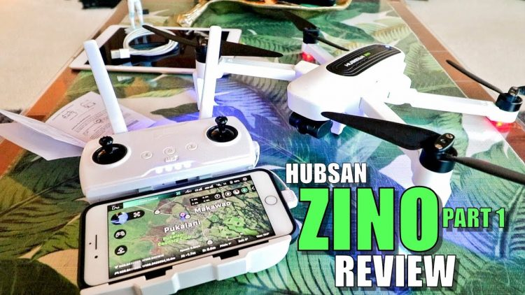 Hubsan ZINO Review – Part 1 – [Unboxing, Inspection, Setup, Pros & Cons]