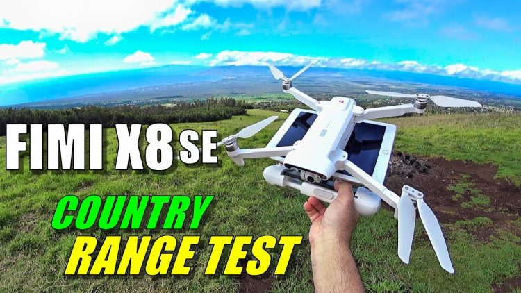 FIMI X8 SE Range Test in Country – How Far Will it Go? [No Interference & No Boosters]