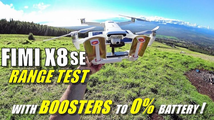 FIMI X8 SE Max Range Test WITH BOOSTERS To 0% Battery! – How Far Will it Go & How Long Will it Fly!?