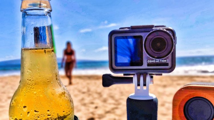 DJI OSMO ACTION Cam Review – Unboxing, Updating & Beach Torture Test (GoPro Killer!?)