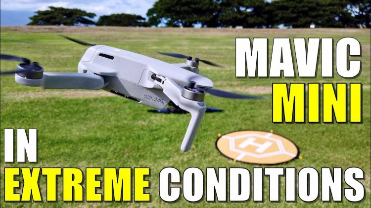 DJI MAVIC MINI Flight Test Review – EXTREME WINDS!.. Will it FLY AWAY? QUICKSHOTS Work?