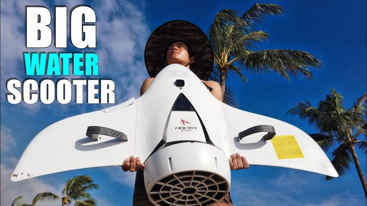 Hoverstar H2 AQUAJET Dive Scooter Review – Like RIDING a MANTA RAY!