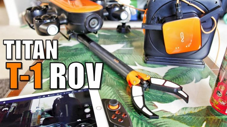 Geneinno TITAN T1 Underwater ROV with CLAW Review – Part 1 – [Unboxing, Setup & CLAW CRUSH TEST]