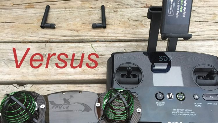 3DR Solo Range Test – Stock vs. Aftermarket Antennas