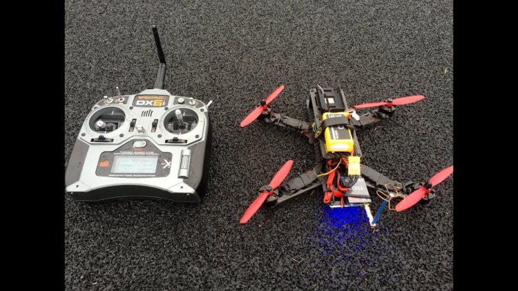 How To Build A FPV Racing Quadcopter Part 3 – Test Flight
