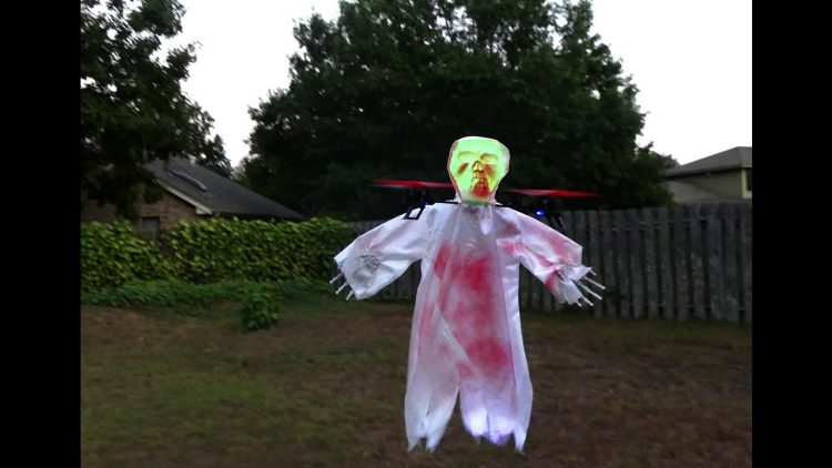 Ghost Drone For Halloween