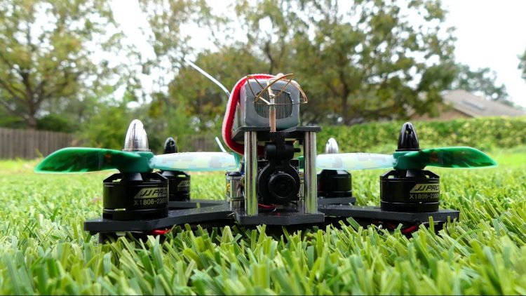 Drone Review – P130 Battler FPV Racing Quadcopter