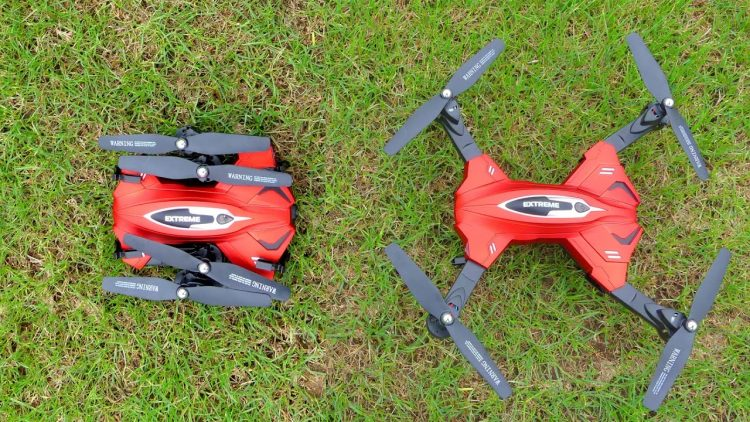 Drone Review – Small Foldable Quadcopter
