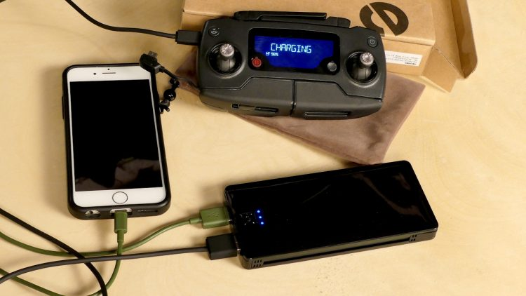 Review of Heloideo Portable USB Charger