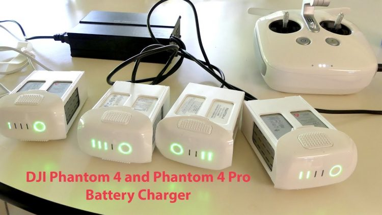 DJI Phantom 4 and P4 Pro Battery Charger