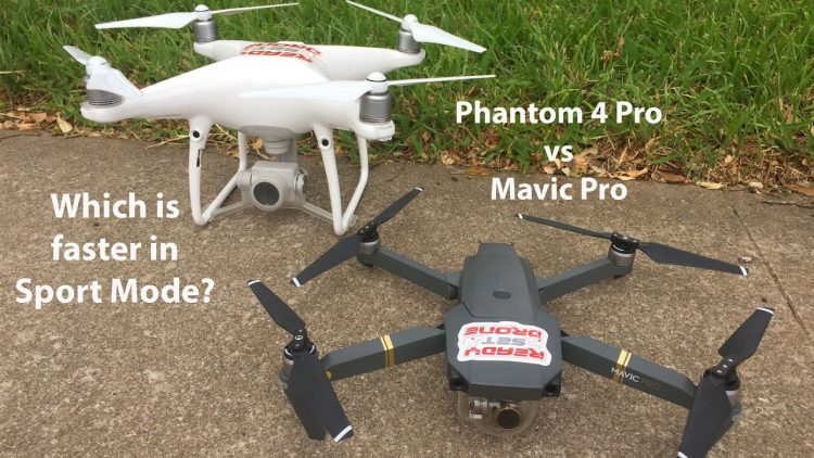 Phantom vs Mavic – Which is Faster?