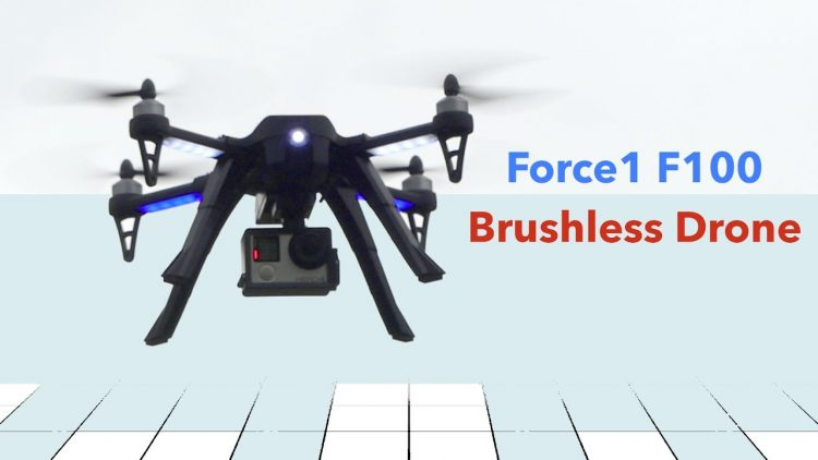 Drone Review – F100 Brushless Camera Quadcopter