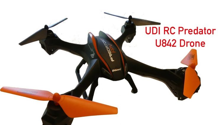 Drone Review – UDI RC Predator U842 Wifi