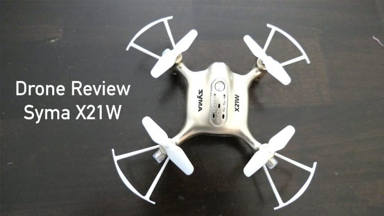 Drone Review – Syma X21W