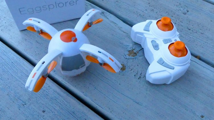 Drone Review – Eggsplorer Egg Shaped Drone