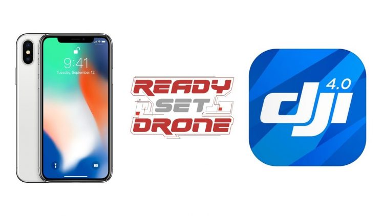 iPhoneX Running DJI GO4 – How well does it work?