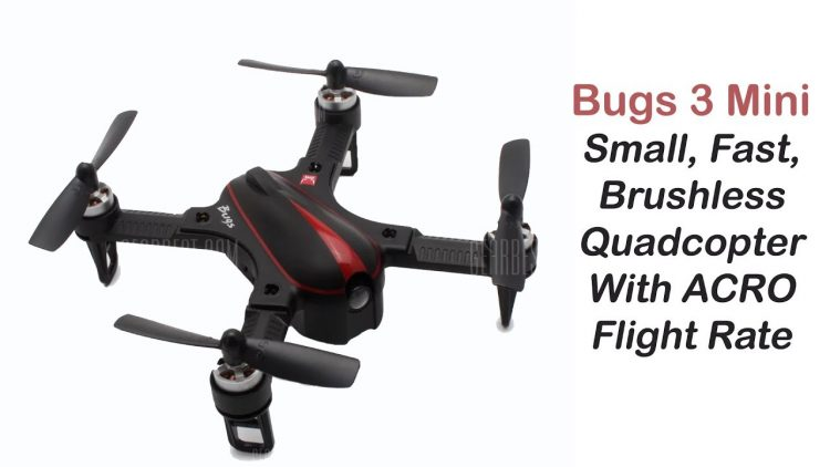 Bugs3 Mini – Brushless Quadcopter with Acro Mode