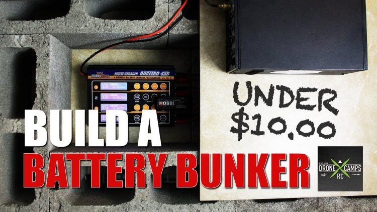 Build a LIPO Battery Bunker for Under $10