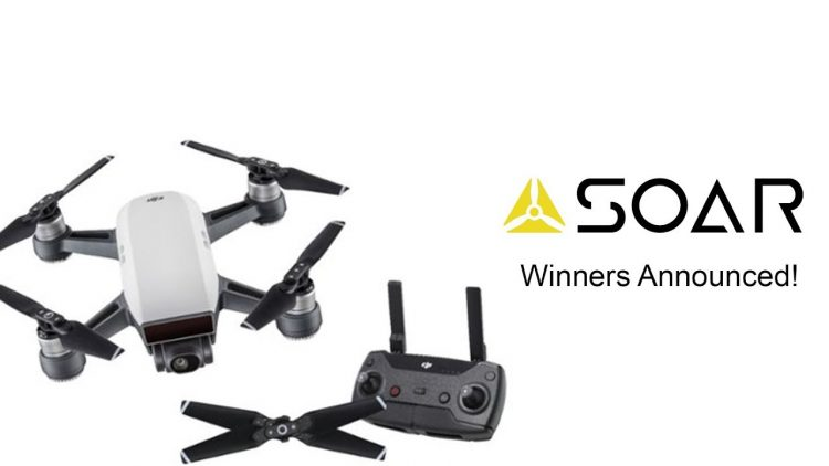 DJI Spark Contest Winner With SOAR The Global Supermap!