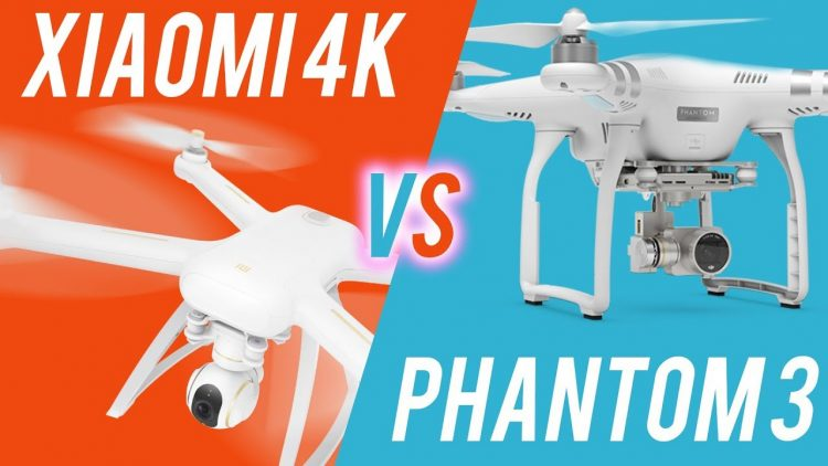 Xiaomi 4k drone vs DJI Phantom 3 – Cameras, Stability, Battery etc