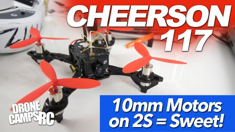2S Micro ROCKS! – Cheerson Tiny 117 Racer Quad Review