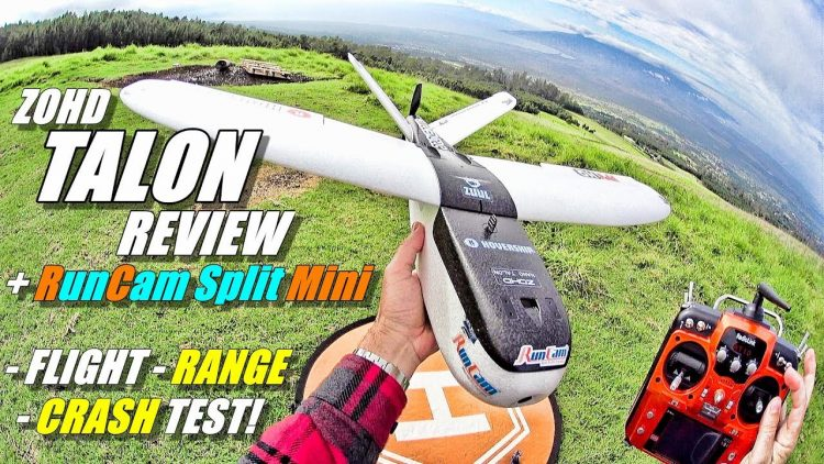 ZOHD NANO TALON FPV Review with RunCam SPLIT MINI & RadioLink AT10ii [Flight, Range, CRASH! Test]