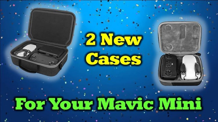 2 New Travel Cases For Your DJI Mavic Mini