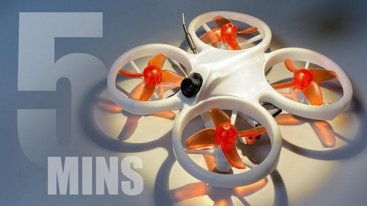 LEARN FPV IN 5 MINS – Emax EZ Pilot Drone