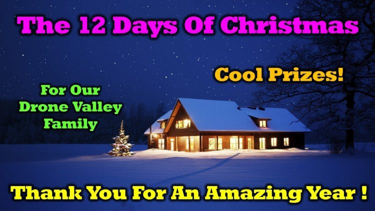 Free Stuff – 12 Days of Drone Valley Christmas Starts Tomorrow!